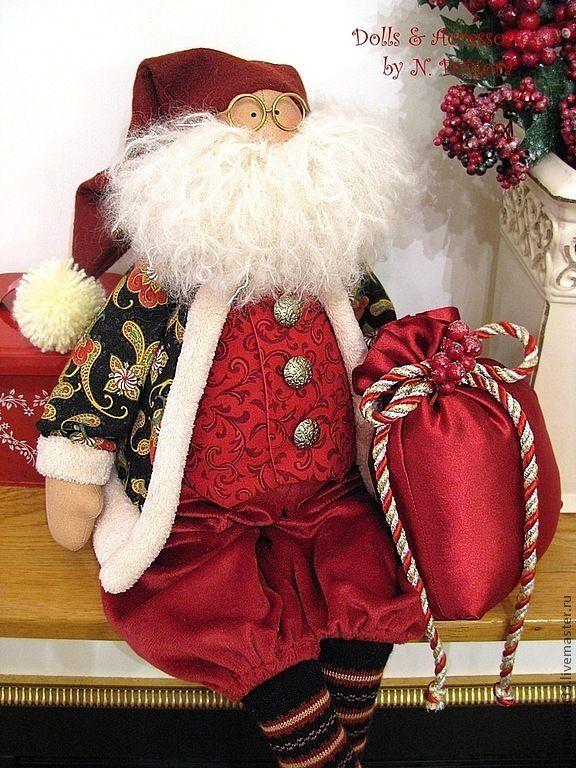 Купить Господин из Лапландии - санта клаус, санта, дед мороз, авторская ручная работа