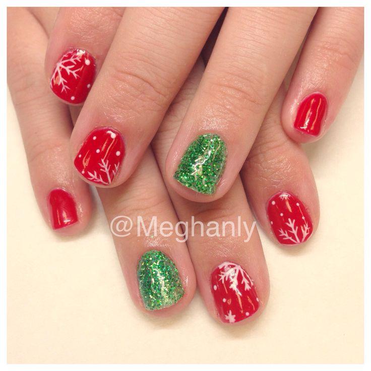 Christmas nails, Christmas nail art