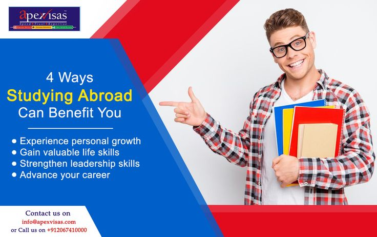 4 Ways Studying #Abroad Can #Benefit You.