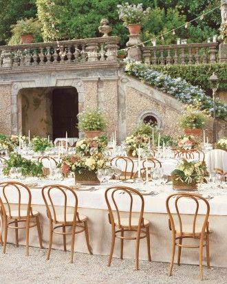 """See the """"Table With a View"""" in our Chrissy Teigen and John Legend's Formal Destination Wedding in Lake Como, Italy gallery"""