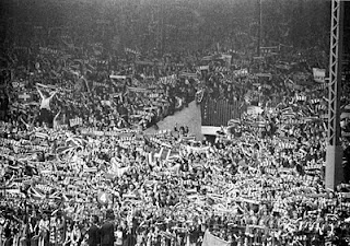 My first memories of the Stretford End in 1970's