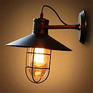 american+bar+jern+vegg+loft+retro+industriell+soverom+nattbord+utendørs+lampe+speilglass+lampe+–+NOK+kr.+928