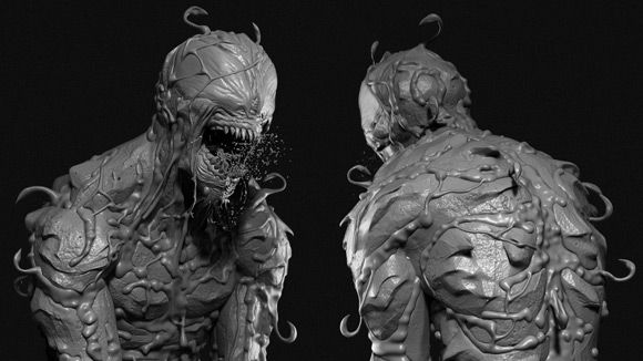 ZBrush - Carnage Symbiote Sculpting Time-Lapse