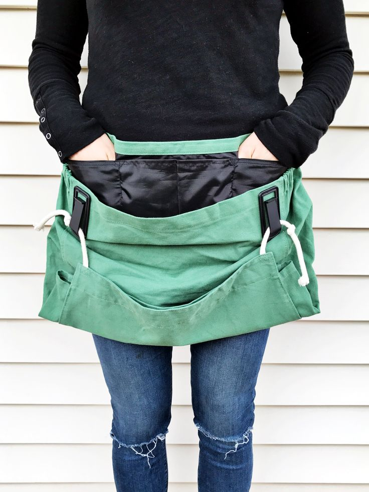 The Joey Gardening Apron / Waist Apron for Harvesting / Harvest Tools