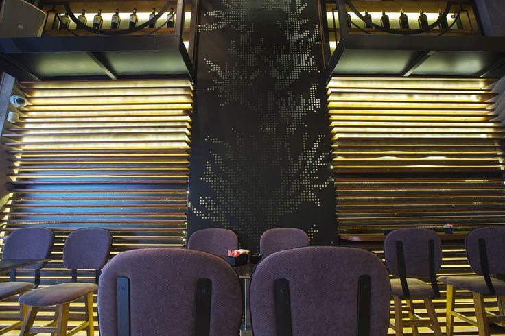 Bo Cafe Florina #interior #design #EpilisisStudio #cafe #bar #industrial #wallart