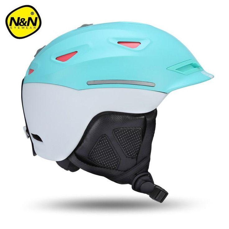 Nandn Brand EPS+ABS Ski Helmets Cover Motorcycle Skiing Helmets Hats adult Men Women Skiing Snow Sports Skating Safety Helmets