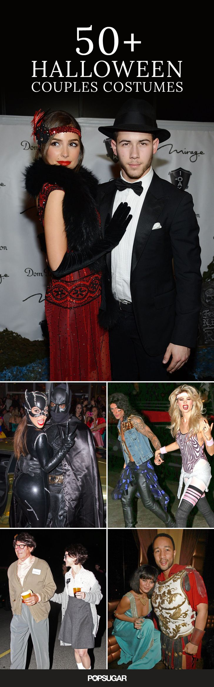 There have been a lot of impressive Halloween costumes over the years, but only a handful of celebrity couples make it out in coordinated looks. Get inspiration and ideas with a look back at some of the best celebrity couples costumes!