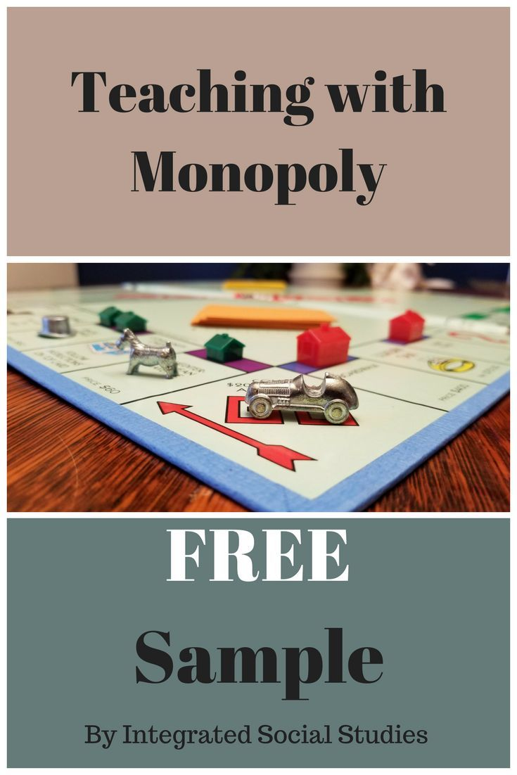 Check out the end-of-game summaries for Teaching with Monopoly for FREE! This free download gives you an idea of the scenarios included and you get to see what questions students are asked to answer once they have played the game. This free sample is part of my bestselling TpT product, Teaching with Monopoly.