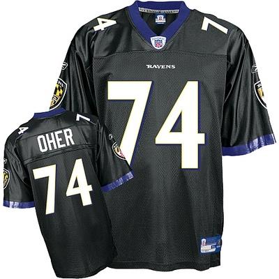 Michael Oher Black NFL Jerseys Wholesale