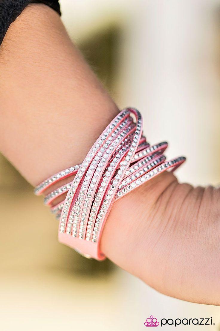 Do the Hustle Pink Bracelet