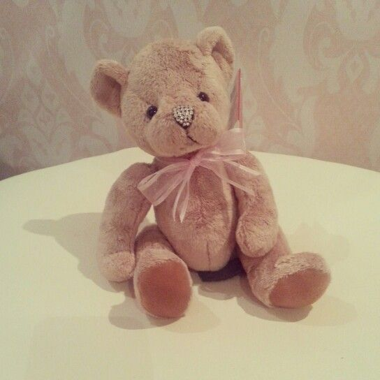 Swarovski nose teddy ♡