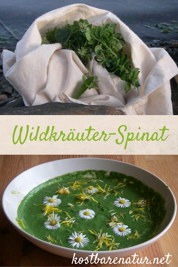 Klassischer Spinat gilt als ungemein gesund. Noch viel gesünder und auch schmackhafter ist Spinat mit Wildgemüse. Dieses Rezept musst du probieren!