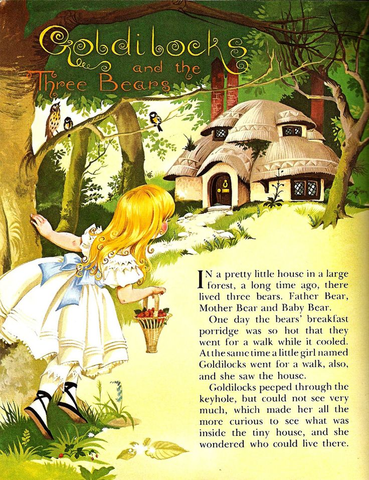 """""""Goldilocks"""" by Janet and Anne Grahame-JohnstoneJohnston Illustration, Create Art, Anne Grahame Johnston, Children Hour, Child Heart, Book Illustration, Anne Graham Johnston, Children Book, Fairies Tales"""