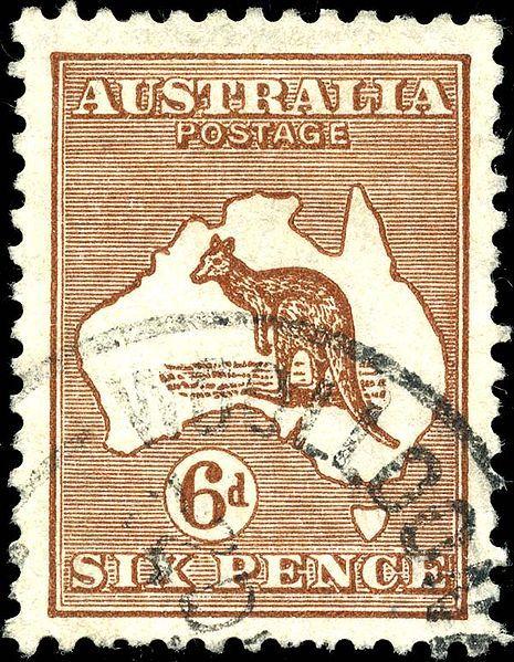 world postage stamps   World Stamp Pictures - Australian Stamp 4 - Stamp Australia 1929 6p ...