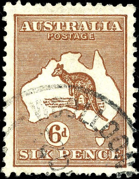 Maps - Northern Territory - LinkedIn Guides (Australia Map Postage Stamp Six Pence)