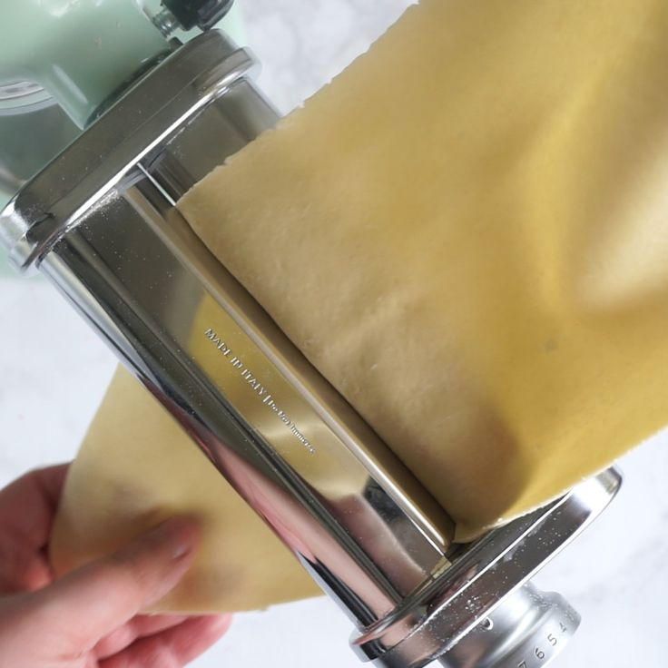 How to Make Homemade Pasta with the KitchenAid stand mixer pasta attachment! It'…   – Recipes