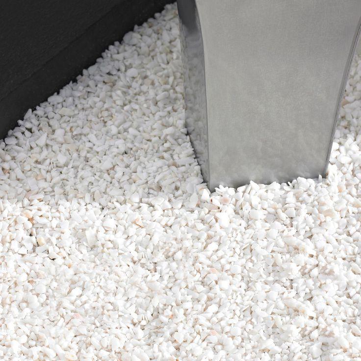 White Alpine Decorative Stone 5kg | Departments | DIY at B&Q