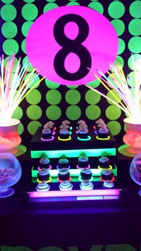 Neon Glow In The Dark Birthday Party Ideas Glow Neon