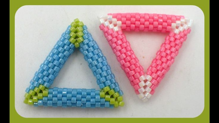 3D Peyote Triangle - another excellent video tutorial by Kelly Dale.