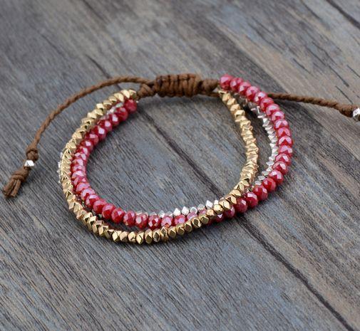 Lupita Boho Layered Boho Bracelet