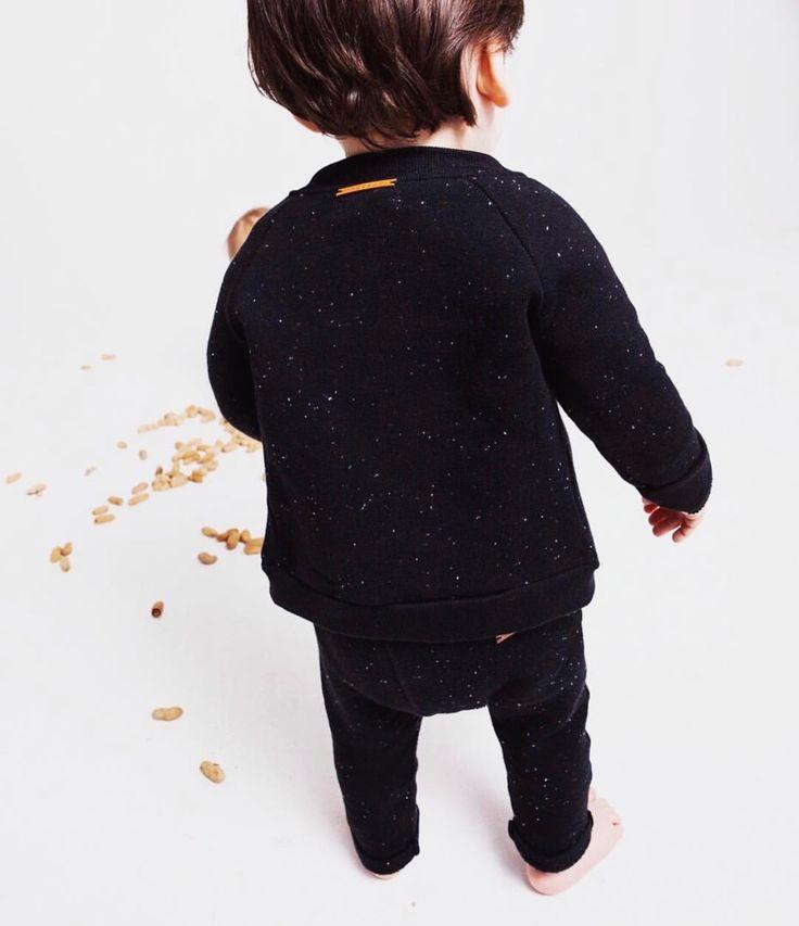 Bomber Vest & Patch Pants - Black | Nixnut Baby & Kids label
