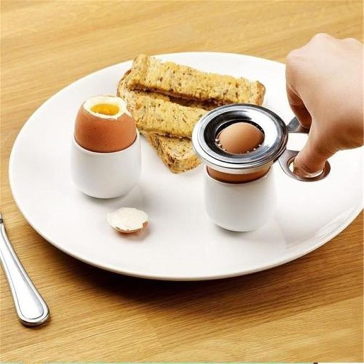 Neuf Coupe Oeuf Bouilli Shell Topper Cutter Ouverture Gadgets Portable Cuisine