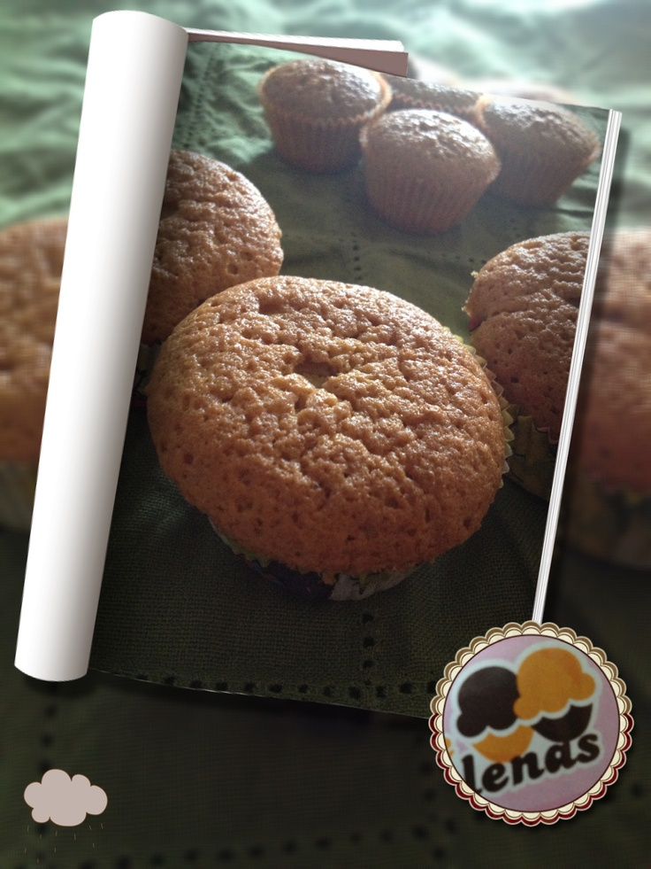 Wholemeal flour muffin... Yummy!