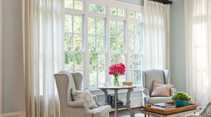 Curtains add sophistication and style to any room in your home now available at 10%* off on this easter.
