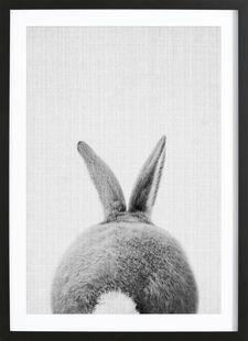 Print 65 - Lila x Lola - Affiche encadrée - bois