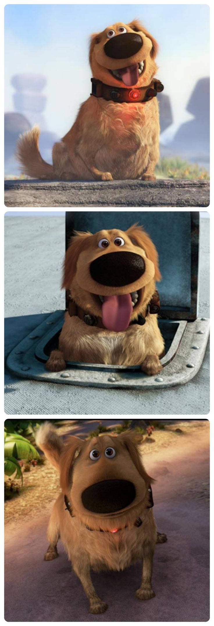 I got Dug! This is funny because out of the Disney dogs- I like him the best anyway! Which Disney Dog Are You?