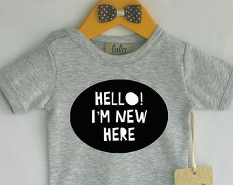 Babykleding grappige babykleding hippe van FawnandFloraBaby op Etsy