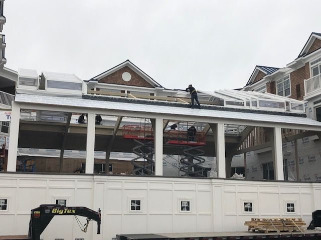 Hotel Lbi Retractable Roof Manufactured By Roll A Cover With