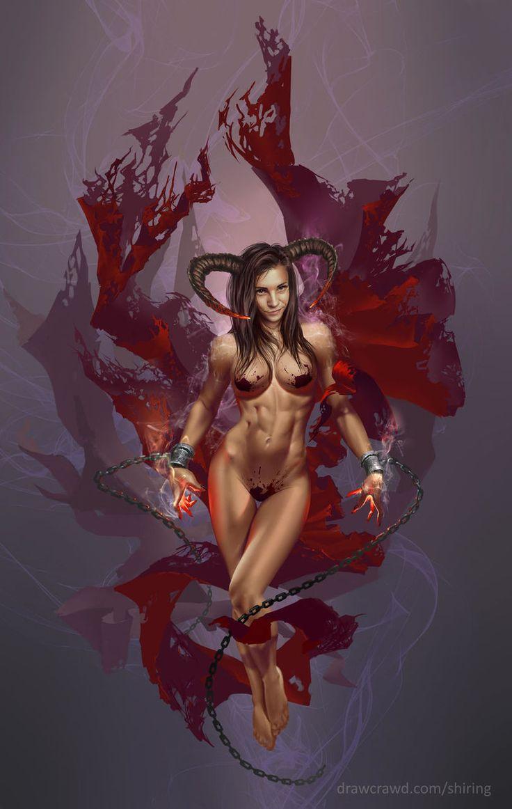Female demon porn pics