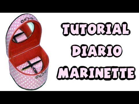 Cómo hacer el diario de Marinette - Tutorial Miraculous Ladybug - YouTube