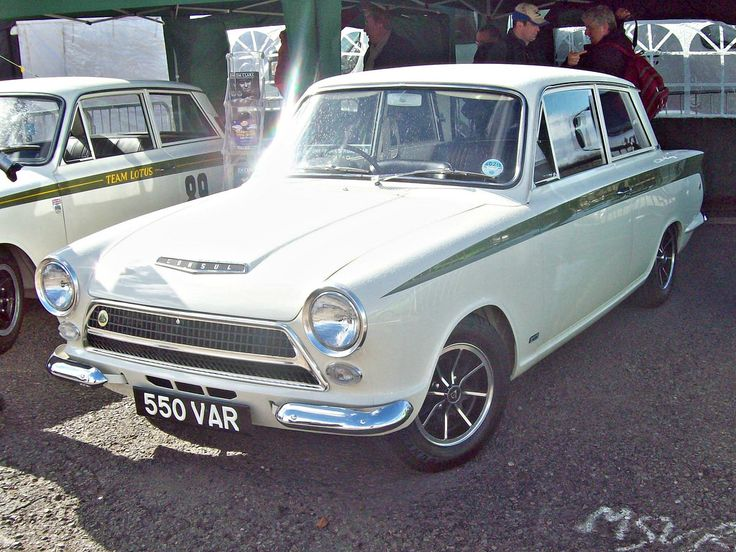 image result for gordon shedden lotus cortina