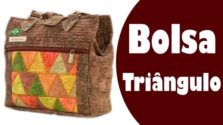 Bolsa Triângulos  | Ana Cosentino | Vida com Arte (01/11/16)