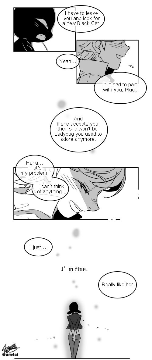 Ladybug Manga(English)01 - 새벽4시  What if they were to never transform again if ever their identities were exposed.