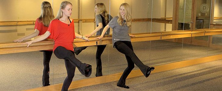 4 pure barre moves for inner thighs.
