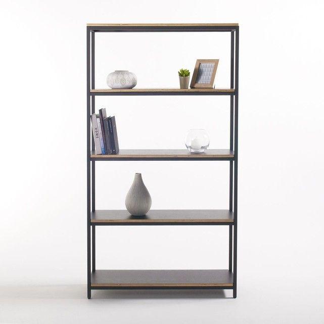 les 25 meilleures id es de la cat gorie etagere bois et metal sur pinterest meuble metal. Black Bedroom Furniture Sets. Home Design Ideas