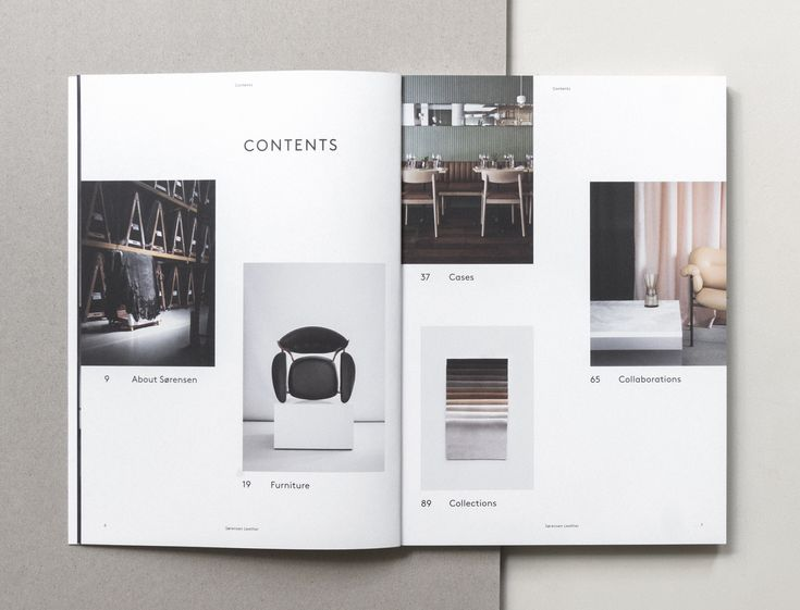 Overview with highlights of projects, designs, creative partners and key collections. Page from our Brand Book 2nd Edition designed and photographed by Norm Architects.Text by Julie Ralphs.