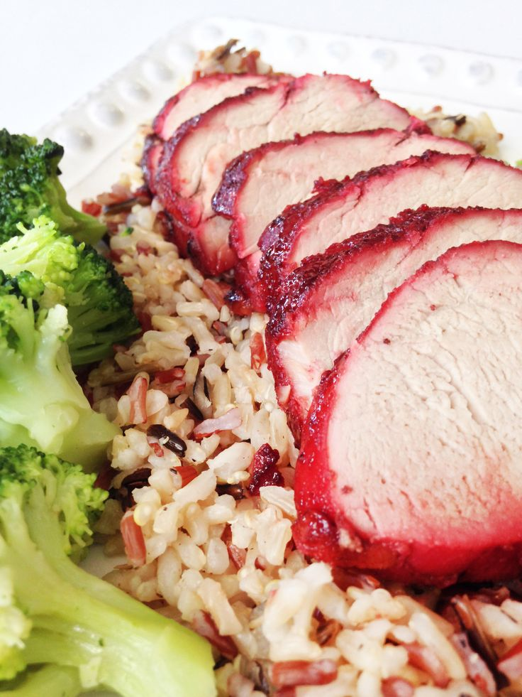 The Chinese New Year was a few days ago (well... okay... almost a week ago...), and I really wanted to have this recipe posted in time but... it just didn't happen that way. Oh, well! Char Siu or 'Chinese BBQ Pork' literally translates to 'fork burn/roast'. It's usually well known for it's bright r