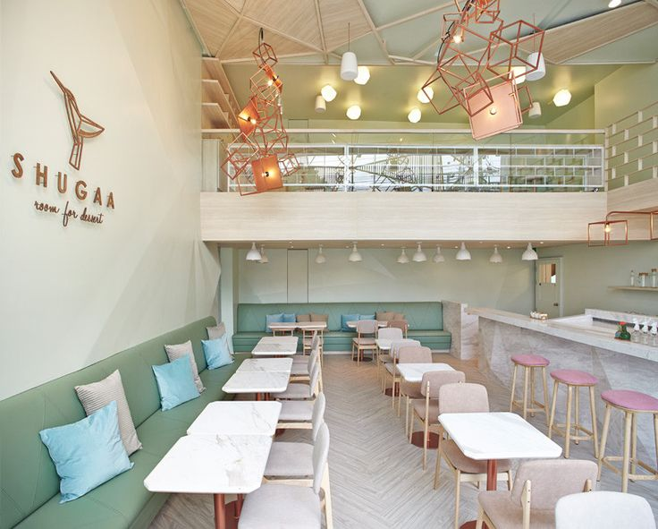 Design Firm Party Space Have Recently Completed SHUGAA A New Dessert Bar In Bangkok Thailand