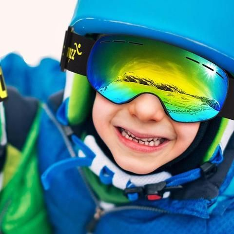COPOZZ Kids - Ski Goggles with Ultra-wide spherical design, it fits for children 4 to 15 years old. Ski goggle fits your face and prevents your eyes from the heavy wind. Durable, Scratch-resistant, Abrasion-proof, 100% Anti-UV and Easy to swap lens. #ski #skiing #snowboarding #snow #sports #skiinggoggles #Goggles #fashion #style #travel #adventuretime #adventuretravel #adventures #gift #Uva #cold #adventureculture #outdoor #outdoorlife #winter #winterfashion