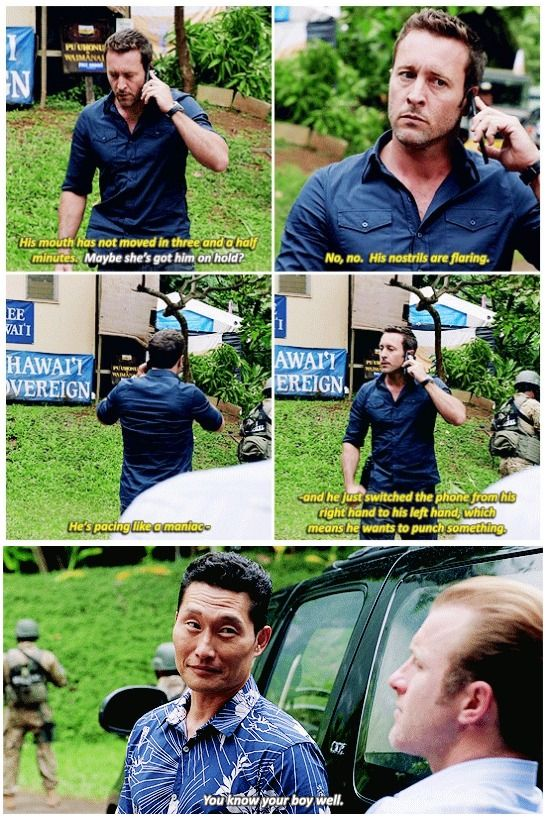 i like that it shows that danny knows steve #and that danny is highly observant #h50: 7.14