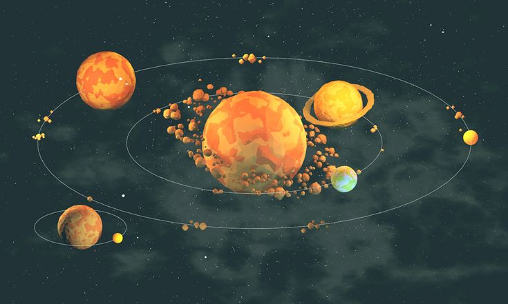 New print - Solar System (not accurate at all)