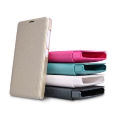 #Banggood NILLKIN Новый кожаный чехол-блеск кожаный чехол для Lumia 435 майкрософт (977930) #SuperDeals