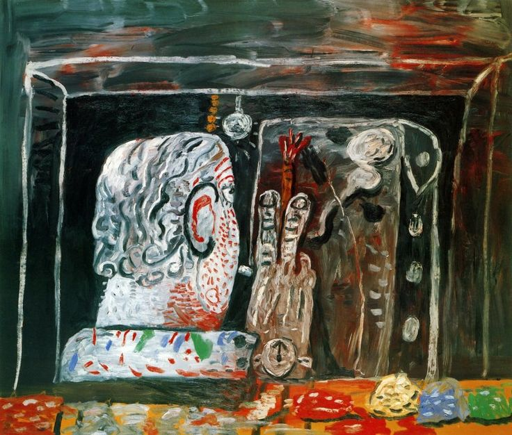 Philip Guston - Painter at Night oil on canvas - 1979 SLC Visual Resources