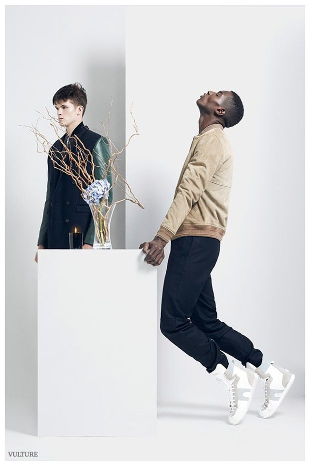 Adonis Bosso, Daisuke Ueda & Ian Sheridan Deliver Dynamic Poses for Vulture Fashion Shoot