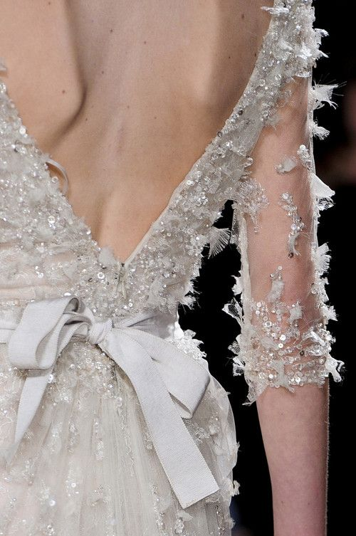 whore-for-couture:  syndromed:  Elie Saab—Spring 2011  Haute Couture blog :)