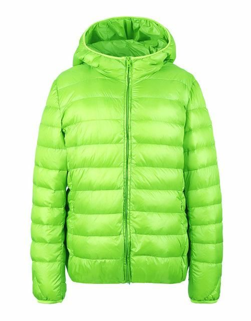 Winter Women Down Jacket Ultra Light Down Snow Coat Hooded 90% White Duck Down Jackets For Women Thin Feather Jacket camperas